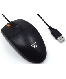 EWENT - MOUSE OTTICO USB/PS2 BLACK