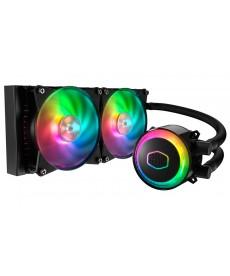 COOLER MASTER - Master Liquid ML240R RGB x Socket 2066 2011 1151v2 1.151 AM4