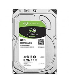 SEAGATE - 6TB BARRACUDA - Sata 6GB/S 256mb