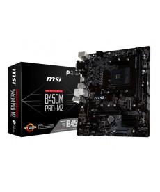 MSI - B450M PRO-M2 DDR4 M.2 Socket AM4