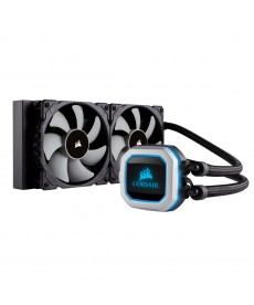 CORSAIR - HYDRO SERIES H100i Pro RGB 240mm x Socket 2066 2011 1151 AM3 FM2 AM4 TR4