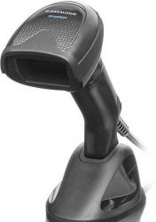 GRYPHON I GD4590, 2D MPIXEL IMAGER, USB/RS-232/WEDGE MULTI-INTERFACE, BLACK (INCLUDES SCANNER AND ALL IN ONE PERMANENT BASE)