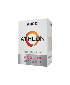 AMD - Athlon 200GE 3.5Ghz 2 Core Radeon Vega 3 Socket AM4 BOXED