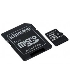 KINGSTON - MICRO SD 32GB Class 10 UHS-I + Adapter 80MB/s