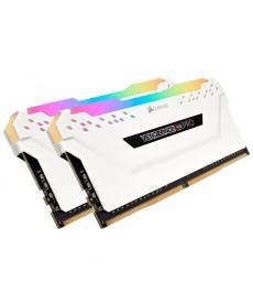 CORSAIR - 16GB Kit Vengeance RGB Pro White DDR4-3000 CL15 (2x8GB)
