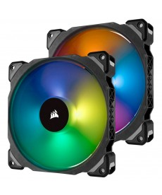 CORSAIR - ML140 Pro RGB - 2 Ventole con Lighting Node Pro