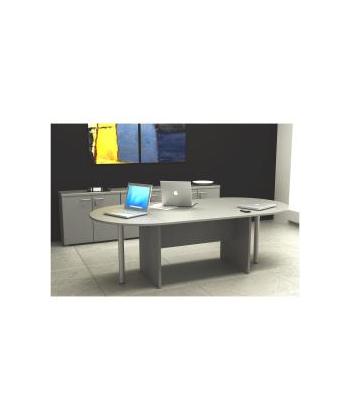 ArtExport - TAVOLO RIUNIONI OVALE GRIGIO - Syspack.com