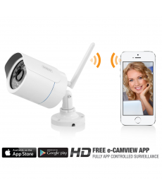 EMINENT - IP CAM INT/EXT IP66 HD CON APP IOS/ANDROID WIFI 1MP