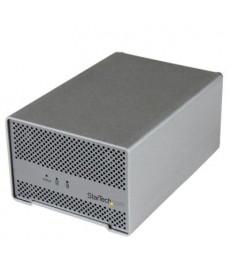 STARTECH - BOX ESTERNO x 2 Hard Disk Sata Raid Thunderbolt
