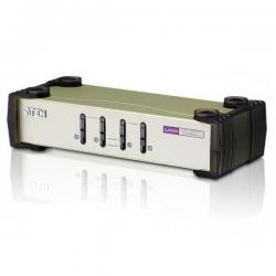 4-PORT USB - PS/2 VGA KVM SWITCH (KVM CABLES INCLUDED)