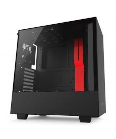 NZXT - H500 Black Red (no ali)