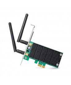 TP-LINK - WIRELESS AC Dual Band 1300Mbps 2 Antenne PCI-Express