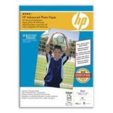 CARTA FOTOGRAFICA HP ADVANCED PHOTO PAPER, LUCIDA, 250 G/M², A4/210 X 297 MM/25 FOGLI