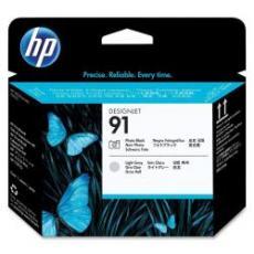 Testina di stampa HP 91, nero fotografico e grigio chiaro