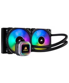 CORSAIR - HYDRO SERIES 100i RGB Platinum 240mm x Socket 2066 2011 1151v2 1.151 AM4