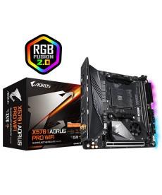 GIGABYTE - X570I Aorus PRO WiFi Mini-ITX DDR4 M.2 Socket AM4