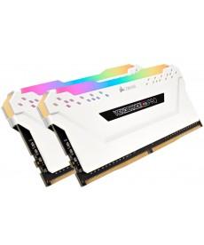CORSAIR - 16GB Kit Vengeance RGB Pro White DDR4-3600 CL18 (2x8GB)