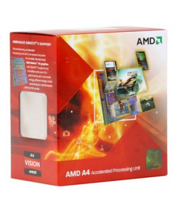 AMD - A4-3400 2.7Ghz Dual Core Socket FM1 BOXED