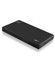 """EWENT - BOX Esterno 2.5"""" SATA USB 3.1 in alluminio"""