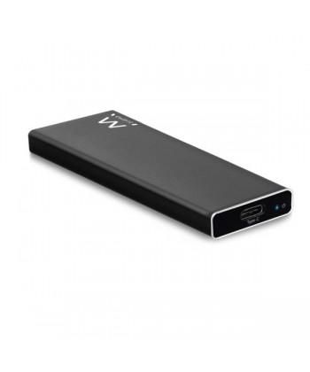 "EWENT - BOX ESTERNO 2.5"" M2 NVMe USB 3.1 BLACK"