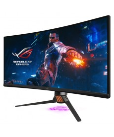 "ASUS - PG35VQ 35"" 21:9 3440x1440 VA Curved 200Hz G-Sync Ultimate HDR1000 HDMI DP - 2ms Gaming Monitor"