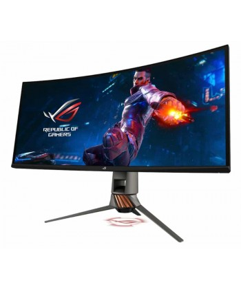 "ASUS - PG349 34"" 21:9 3440x1440 Curved 120Hz G-Sync HDMI DP - 4ms Gaming Monitor"