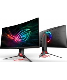 "ASUS - XG35VQ ROG 35"" 3440x1440 Curved VA 100Hz AdaptiveSync HDMI DP - 1ms Gaming Monitor"