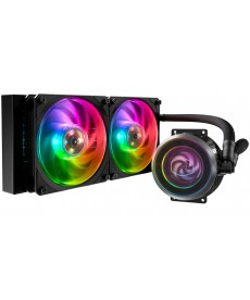 COOLER MASTER - Master Liquid ML240P Mirage RGB x Socket 2066 1200 1151v2 AM4