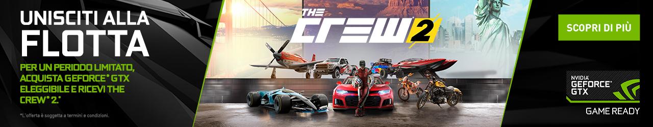 The Crew promozione nvidia