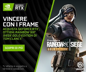 Acquista una GeForce RTX e gioca con Rainbow Six