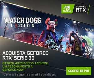 Offerta Bundle GeForce RTX serie 30