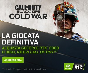 Gioca a Call of Duty con RTX 3080 e 3090