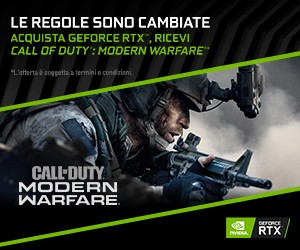 Call Of Duty Modern Warfare con GeForce RTX